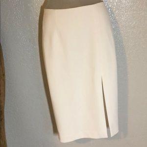 INTERMIX white skirt p